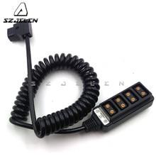 Rolux 1 Power Tap P   Tap D   Tap to 4 พอร์ตหญิง D   Tap Hub Adapter 45 ซม. ~ 200 ซม.