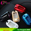 2 Pcs/Set ABS Paint Key Shell Case Bag Wallets Packet Cover for Peugeot 2008 301 3008 508 2012 2013 2014 2015 Accessories