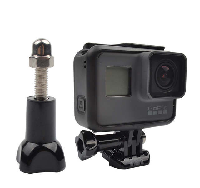 Screw Long Short Nut Converter Mount Factory Whole Sell Price for GoPro  Hero 7/6/5/4/3/3+/2/1 Sony AEE Xiaomi Yi 4k