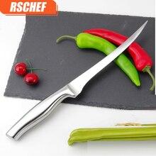 RSCHEF 7 inch Quality Stainless Steel font b Kitchen b font Fillet font b Knife b