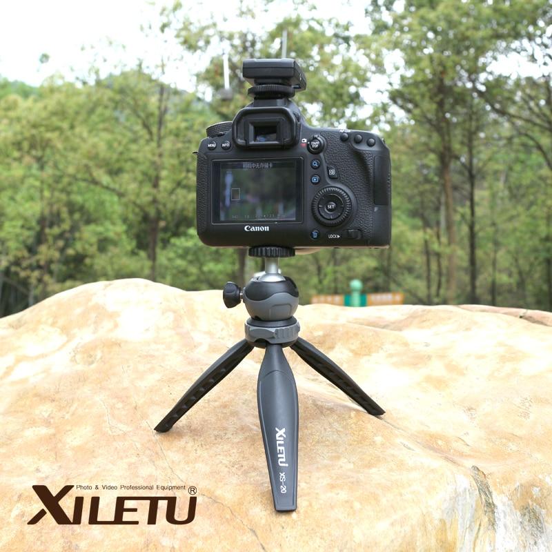 ced7d382c0c XILETU XS-20 mini lauaarvuti väike laua statiiv statiiviga kaamera ...