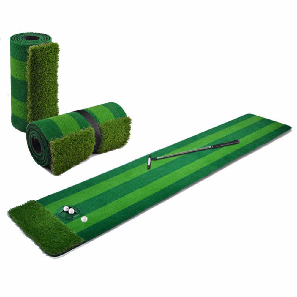 CRESTGOLF esteras de Golf putting greens de práctica de golf artificial conjunto
