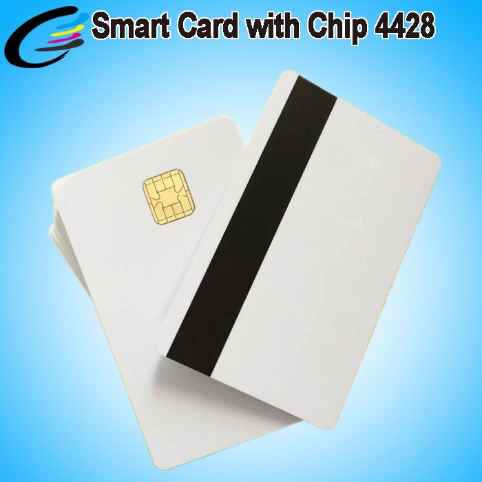230pcs/box Pvc Card With Magnetic Stripe Contact Ic Smart Card Wholesale Printable Plastic Chip 125khz Rfid Id Card Office & School Supplies