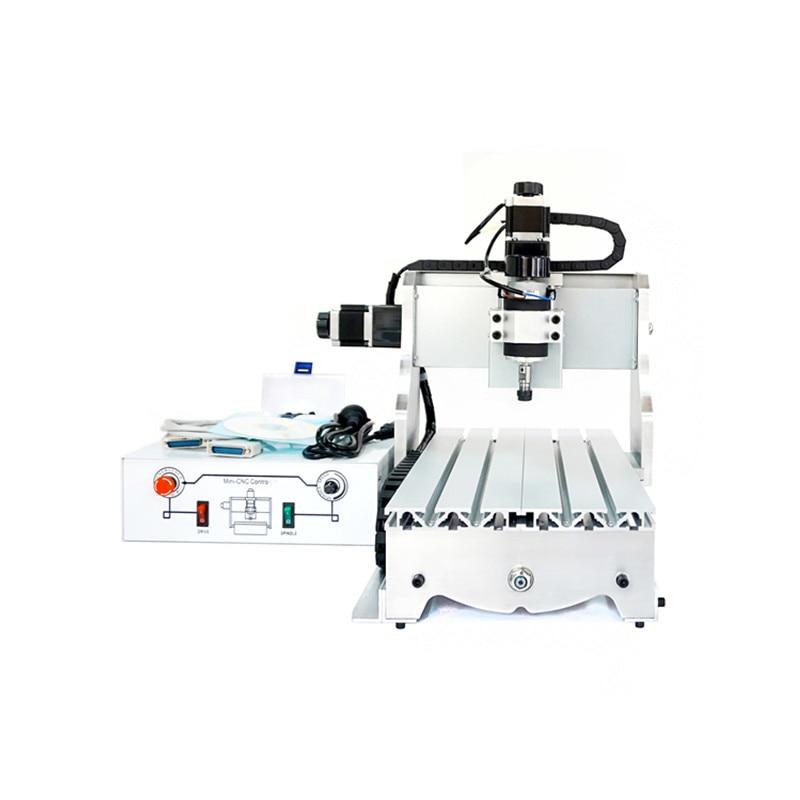 300W power cnc milling machine 3040Z D300 with Ball screw 1605 cnc 3040