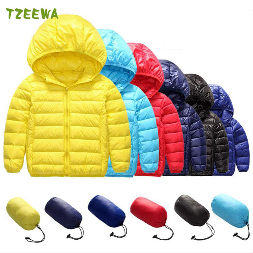 90% White Duck Down Baby Boys Outerwear Infant Overcoat Winter Children Clothing Winter Girls Boys Jacket Coat Warm Down Parkas 2016 winter children warm thick snow proof coat baby boys white duck down jacket vest kids casual long style outerwear parkas
