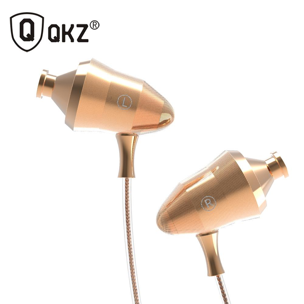 100% Original Headphone QKZ DM5 In Ear Earphones Super Stereo Headset 3.5mm For iPhone Samsung With Microphone fone de ouvido