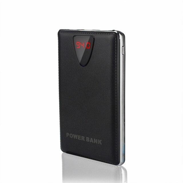 Новый Портативный Ультра-тонкий Power Bank 10000 мАч Литий-Полимерный Внешнее Зарядное Устройство Powerbank Для Всех Телефонов