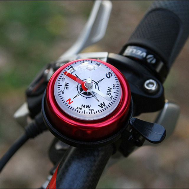 Mountain Bike Aluminum Alloy Bicycle Cycling Bell Horn Red Bikes Accessories Bike Guide Bell free shipping