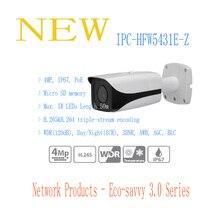 DAHUA IP CCTV Камера 4MP WDR ИК Пуля Сетевая Камера IP67 с POE Оригинальная Английская Версия без Логотипа IPC-HFW5431E-Z