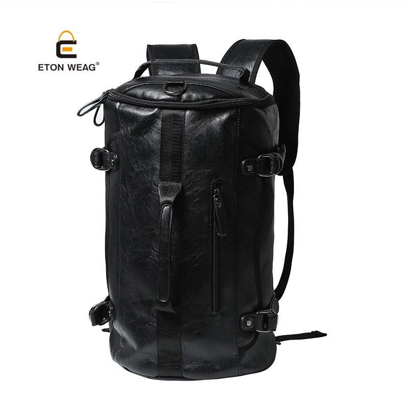 Japan Style High-Capacity Travel Bags Vertical Square Basket ball Backpacks High Quality Notebook Computer Men Cross Body Bags
