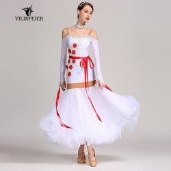 New ballroom dance competition dress dance ballroom waltz dresses standard dance dress women ballroom dress S7025