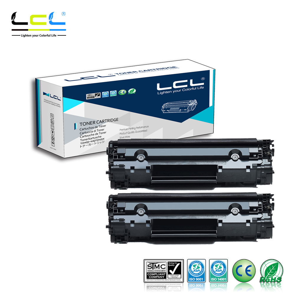 LCL 137 CRG137 737 CRG737 CRG337 (2-Pack) Laser Toner Cartridge Compatible for Canon MF211/MF212W/MF215/MF216N/MF217W/MF226DN/ for canon d570 printer cartridge 737 337 137 ucan 737ar kit 12 000 pages