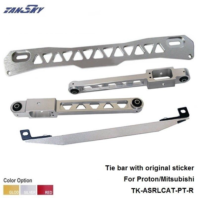 Rear Subframe Brace Tie Bar silver For 1997-2001 Mitsubishi Mirage TK-ASRLCAT-PT-R