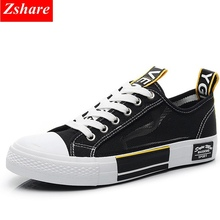 2019 Summer Breathable Women Sneakers Mesh Canvas Shoes for Women Fashion Lace-up Black Casual Shoes Girl Flats Zapatillas mujer renben leather casual women shoes fashion flats walking loafers female shoes durable breathable lace up shoes zapatillas mujer