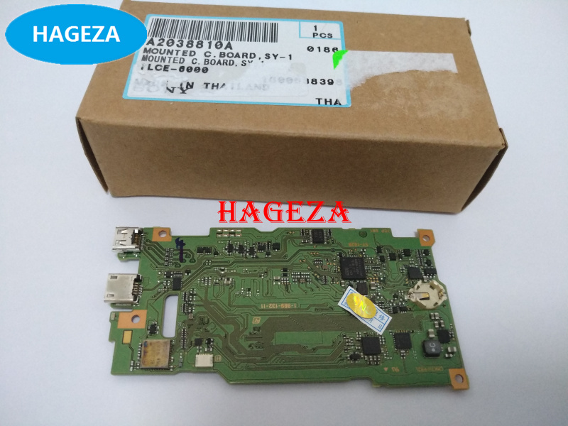 New Original A6000 mainboard for sony A6000 main board ILCE-6000 motherboard camera Repair Part SY-1028 A2038810A охватывающие наушники audio technica ath sr9 silver black