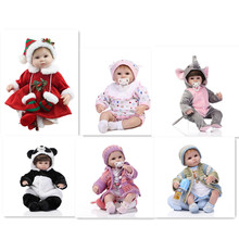 15 Latest Styles 18Inch 45cm Reborn Baby Doll Clothes With Different Style Hot Sell Christmas Gift /DIY Doll Clothes Best Gift