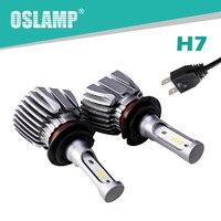 Oslamp CREE Chips 6000K LED H7 Headlight For Car Automobile H7 Car Headlight 50W Pair Fog