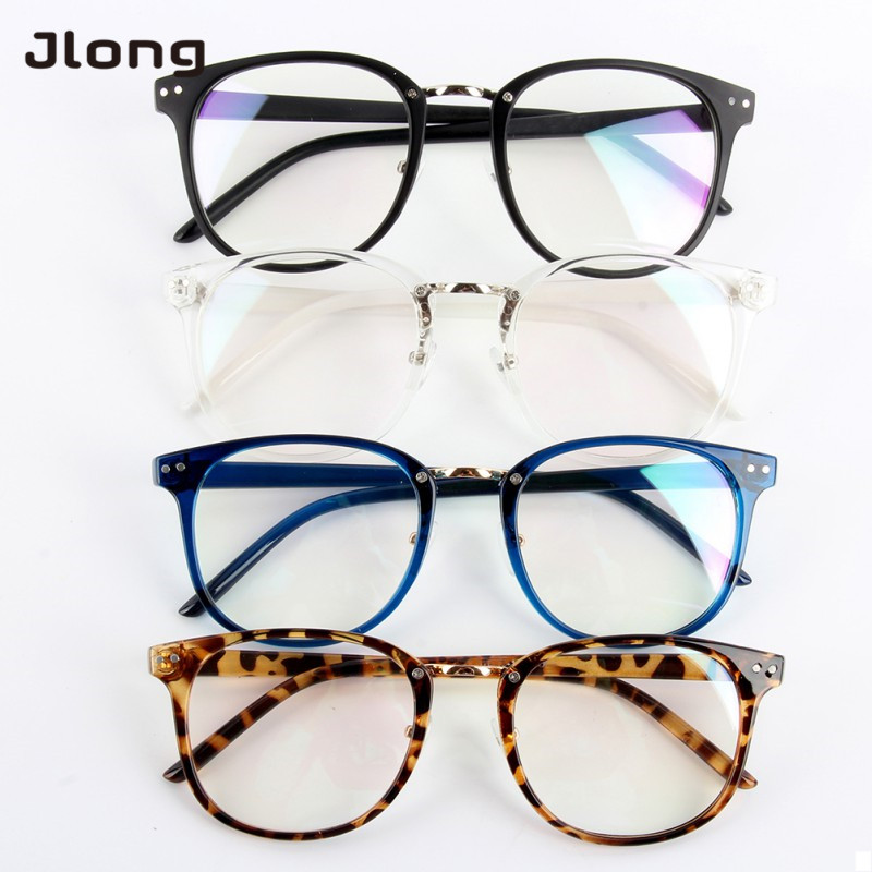 Women Glass Frame Eyeglasses Frames Eyewear Clear Lens Glasses Spectacle Frame Silicone Optical Brand Eye