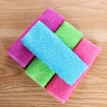 1 шт. волшебное бамбуковое волокно, антижирое полотенце для мытья посуды, Кухонное домашнее чистящее полотенце, тряпки, аксессуары для дома