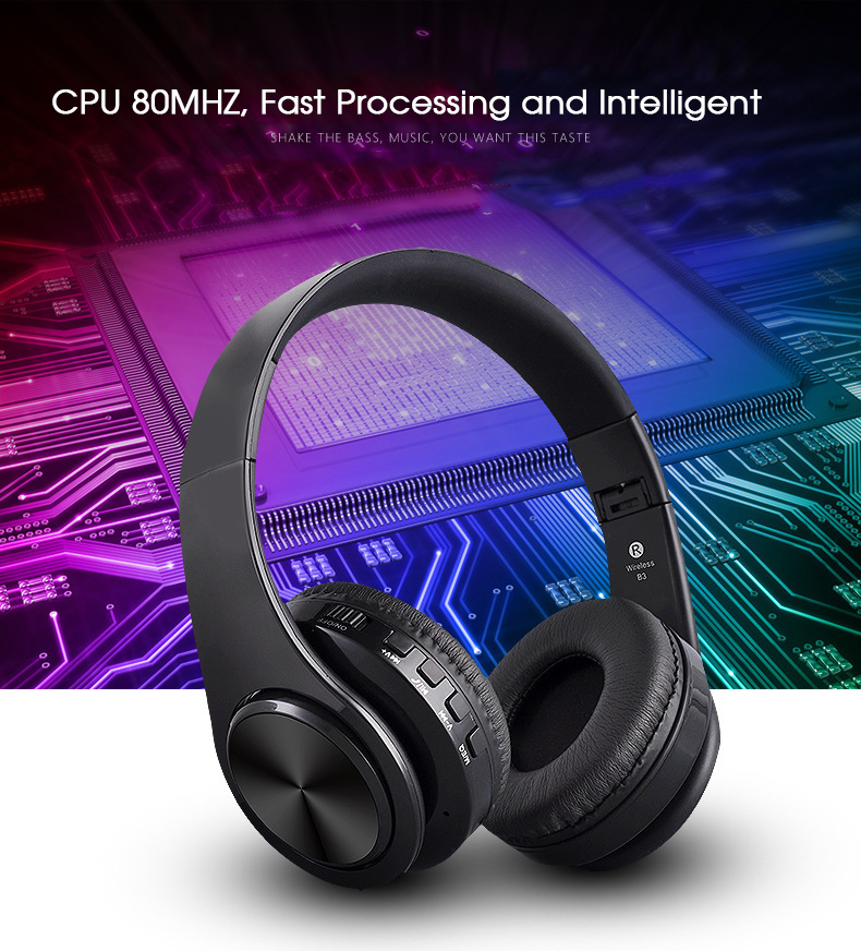 6 High Quality Bluetooth Wireless Headphones