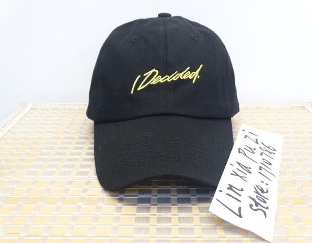 5c5a578e67c Big Sean I decided album Dad Cap - NYC pop up Tour hat Good Music Kanye  west new 2017 black hats