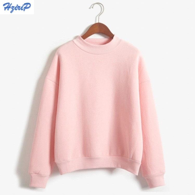 9 Colors 2018 Hitz Winter Sweatshirt Women Sweatshirts Plus Size Plus Velvet Thicken Pullover Casual Hoodies Baseball Clothes