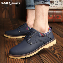 цена на Men's Canvas Shoes Spring Autumn Comfortable Casual Shoes Mans Casual Shoes For Men lace-up Brand Fashion Flat Loafers Shoes