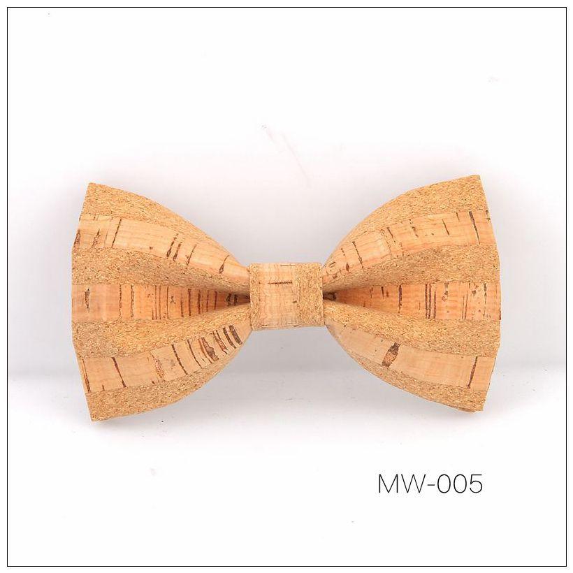 New Handmade Wooden Cork Bamboo Bow Tie Bowtie Men's Cravat 47