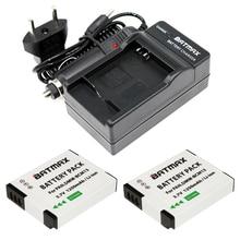 2X DMW-BCM13E DMW-BCM13 BCM13 Battery + Charger for Panasonic Lumix ZS40 / TZ60, ZS45 / TZ57, ZS50 / TZ70, ZS27 / TZ37, and TZ41