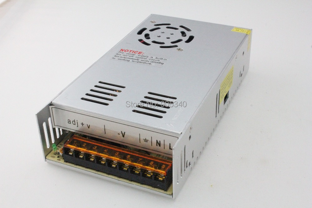 Ac 110 V / 220 V DC 360 W 24 V 15A sortie unique de commutation alimentation de 24 volt led light strip alimentation livraison gratuite