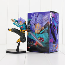 Troncos de 15 cm Troncos De Dragon Ball Z Figura Toy Com Espada 4 Anime DBZ Budokai Tenkaichi Collectible Modelo Boneca(China)