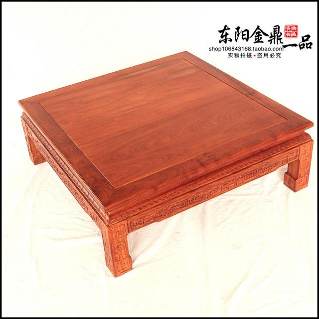 Rosewood Kang Table Tatami Tables Solid Wood Ocean Bed Mahogany Desk  Platform Coffee Coffee Teasideend