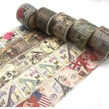 Bonito Flor Lotkawaii jiataihe alimentos animais Decorativo Fita Adesiva Washi Tape DIY Scrapbooking do vintage Escola Material de Escritório