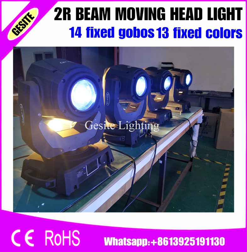 6pcs/lot MSD 2R 132W Beam 13 Kinds Of Colors Chip DMX Moving Head Light /Stage Light