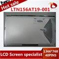 """Высокое качество 15.6 """"Для Samsung 305V5A 550P5C New Grade A Ноутбук СВЕТОДИОДНЫХ Экранов LTN156AT19 1366*768"""