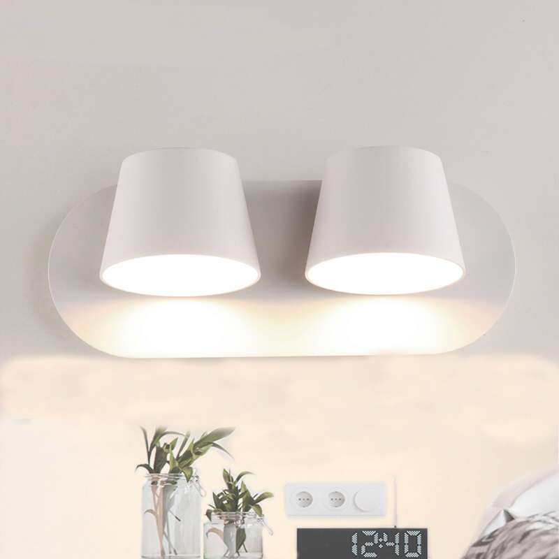 Wall lamps LED reading bedside lamp bedroom aisle living room hotel wall light creative fashion modern wall light led LU808160 modern simple led wall lamp bathroom mirror lamps reading light living room bedroom aisle wall lights free shipping