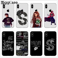 American TV Riverdale Southside Serpent Phone Case For iphone X 8 7 6 6S Plus 5 5S SE TPU Soft Silicone Back Cover For iphone 6(China)