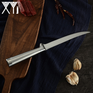 Image 5 - مجموعة سكاكين XYj للمطبخ من 8 قطع من الفولاذ المقاوم للصدأ بطول 8 بوصات سكاكين Boning Santoku أدوات طهي على الطريقة اليابانية للسوشي والأسماك