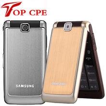 Samsung-teléfono móvil S3600 Original renovado, smartphone con cámara de 1,3 MP, GSM, 2G, teclado Inglés, árabe, ruso, Flip reacondicionado