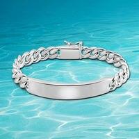 Hot European and American punk pure male models bracelets free shipping 925 sterling silver men bracelets&