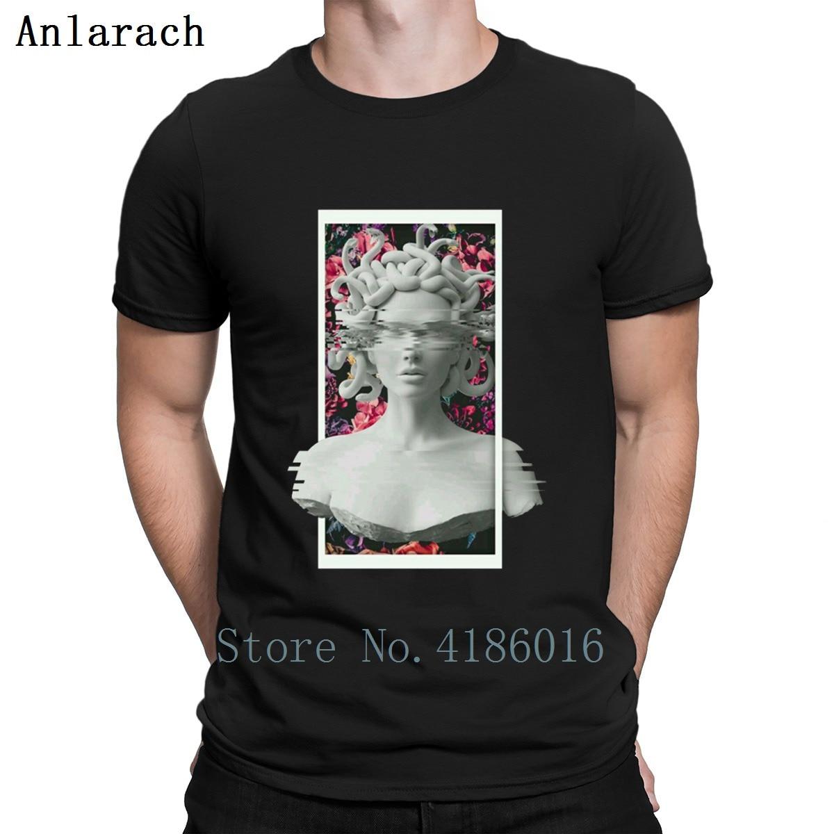 Medusa T Shirt Summer Top New Fashion Interesting Designs Mens Tee Shirts S-3xl Kawaii Stylish Spring Autumn