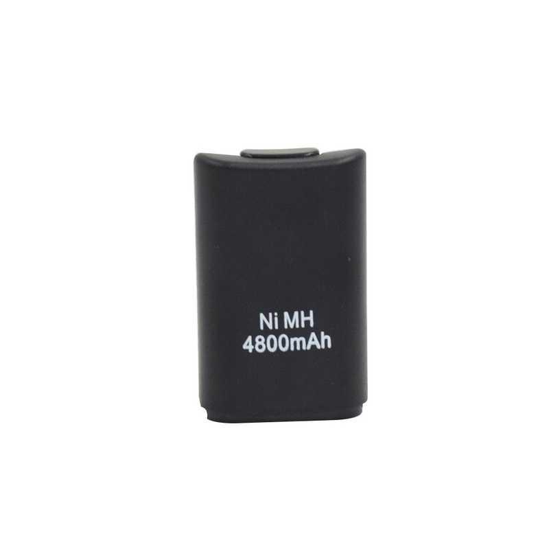 2 pcs 3.7 V 4800 mAh Batteria + Cavo di Ricarica Per XBOX 360 Controller Wireless Gamepad Ni-Mh Bateria Batterie Ricaricabili