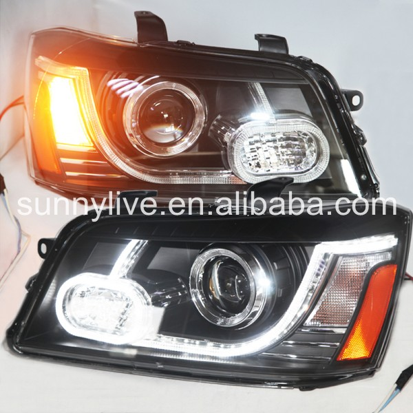 2001-2007 year for Toyota Highlander or Toyota Kluger LED Head Lamp PLUS front grill YZ led head lampfor lexus for lx470 led head lamp1998 2007 year