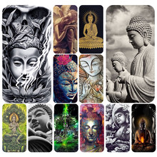 Buddha Soft TPU Silicone Cover Case For Apple iPhone5 5s se 6 6s 7 8 plus x xr xs max coque(China)