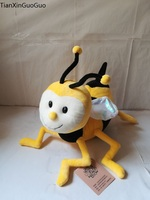 large 30cm lovely yellow cartoon bee plush toy soft doll kid's toy Christmas gift s2221