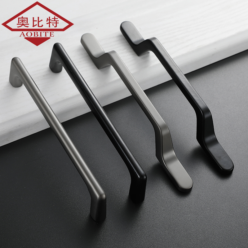 AOBT Sample Cabinet Handles for Furniture Drawer Knobs Pens Black Painting Gray Cabinet Pulls Decorative Home Decor Hardware in Cabinet Pulls from Home Improvement
