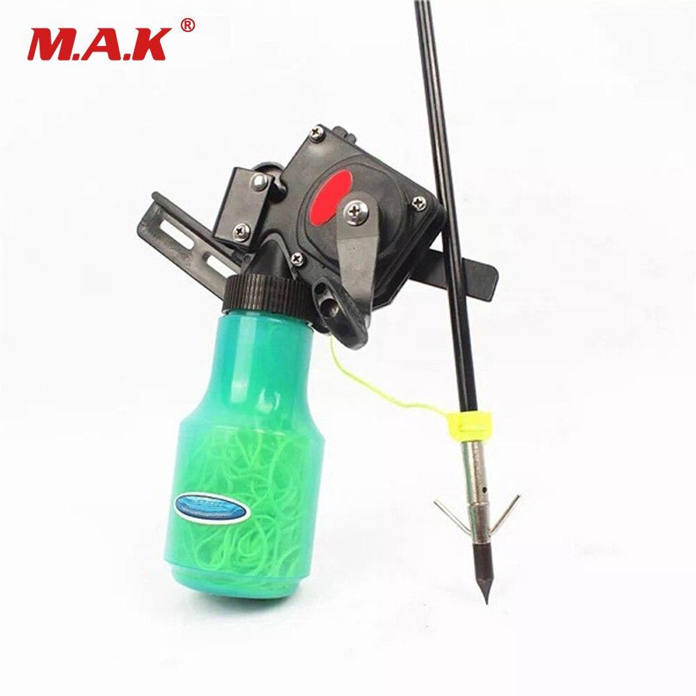 Высокое качество бантом Рыбалка Spincast Катушка для блочного Лука и изогнутый лук приспособление для стрельбы рыбы охотничий лук Рыбалка