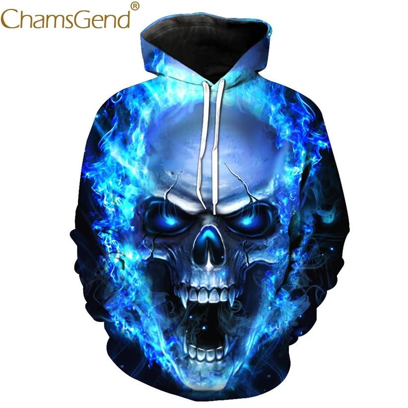 Chamsgend Hoodies 3D Sweatshir...
