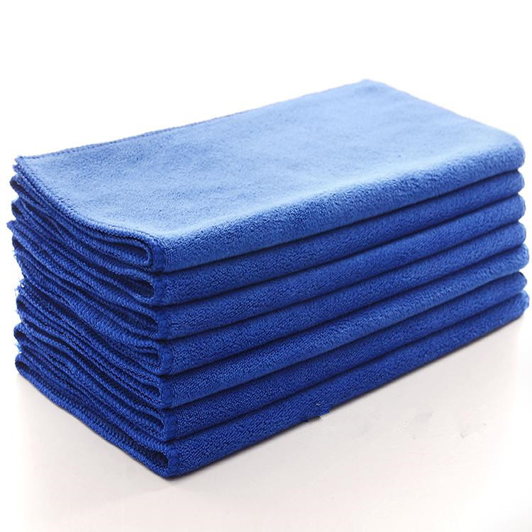 Best Eell 1/3 / 5Pcs 30X30CM30X60CM Microfiber Towel Cleaning Cloth Quick Dry Towel Absorbent Scouring ClothAuto Cleaning Tool