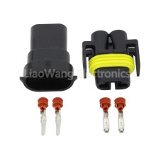 5sets 2 pin fog lamp plug harness holder with end Kit Female Male 880 Socket H11 H8 H9 Lamp DJ7028Y-2.8-11/21